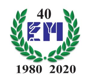 Logo 40 Anni Elettrica Maronese